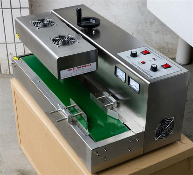 induction sealing machine aluminum foil wads automatic seale