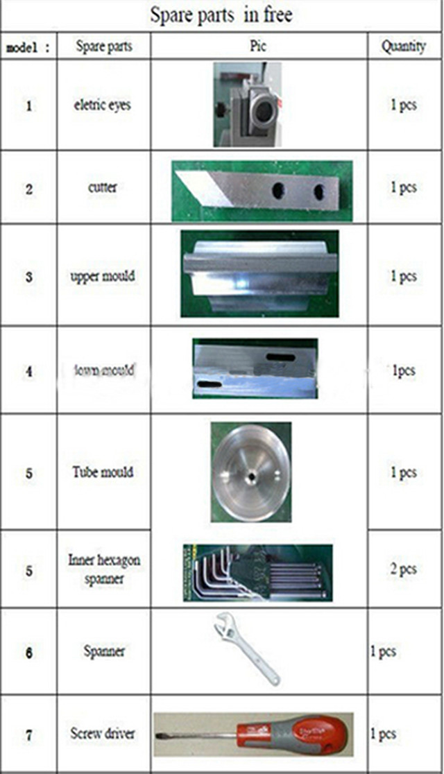 spare parts of ultrasonic tubes sealing machine.jpg