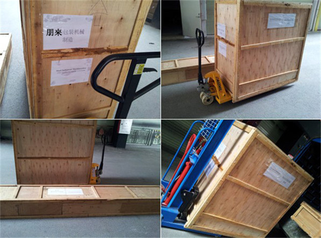 wooden case packing of liquid filling machine full pneumatic