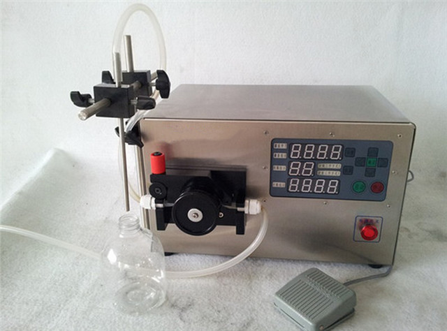 0.2ml-20ml pharmaceutical medical liquid aseptic filling machine E-liquid Cigar small filler equipment Abfuellmaschine kleine with peristaltic pump