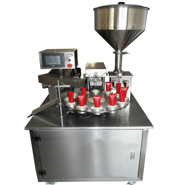 plastic tube filling ultrasonic sealing machines semi automatic lotion cream tube filler and sealer equipments cosmetic food pharmaceutical cream