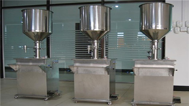Vertical filling machine double heads 2000ml cream filler eq