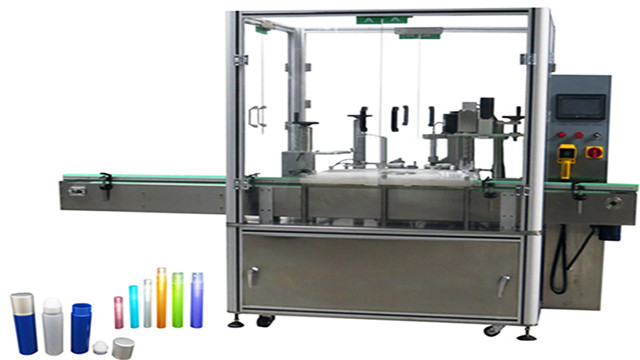 Nail polish eye drops filling capping machine with mechanica