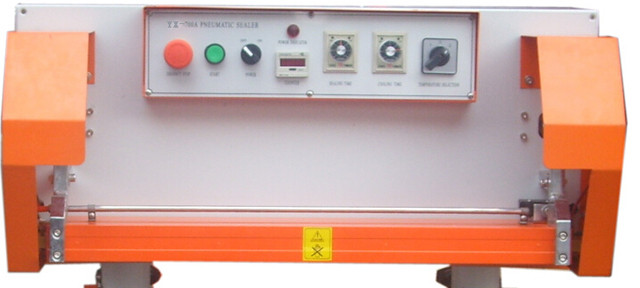 control panel interface of Pneumatic sealing machine for big
