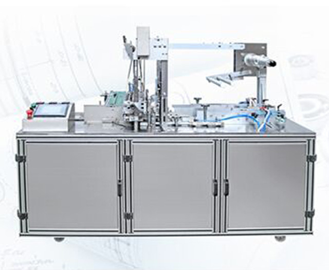 full view of YX-200A fully automatic overwrapping machine bo