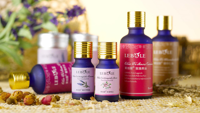 final sample products by the Essential oil filling line auto