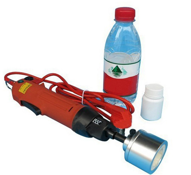 YX-EC60 Portable Electric Hand Held Bottle Capping Machine B