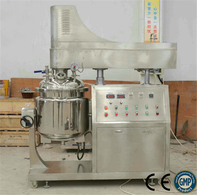 front view of Lab homogenizer high shear mixer for experimen