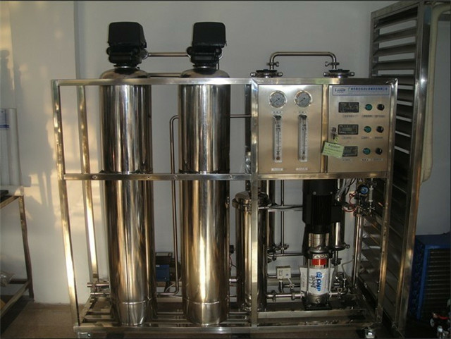 one stage water treatment equipment water purification filtr