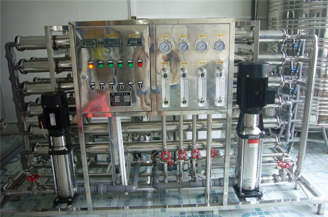 full view of one stage water treatment equipment water purif