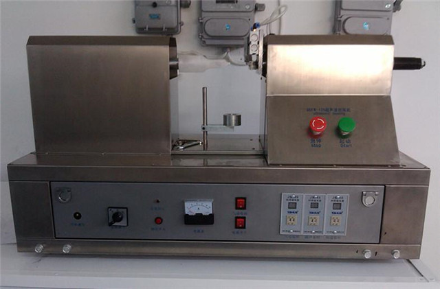 US customer ordered  YX-005 ultrasonic tube sealing machines for soft plastic cosmetics tubes