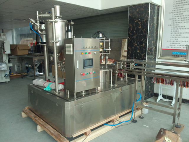 USA Austin customer tested spout bag filling capping machine fully automatic  stand-up pouch liquid filler capper