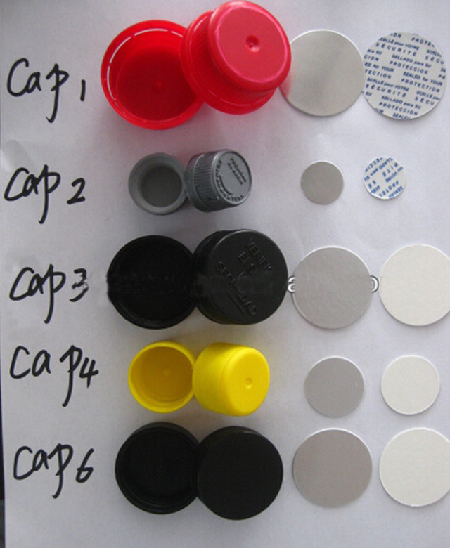 caps and foils for cap wadding lining machine induction seal