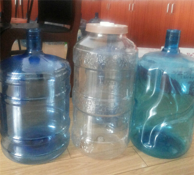final products by  5 gallon containers mineral water bottles