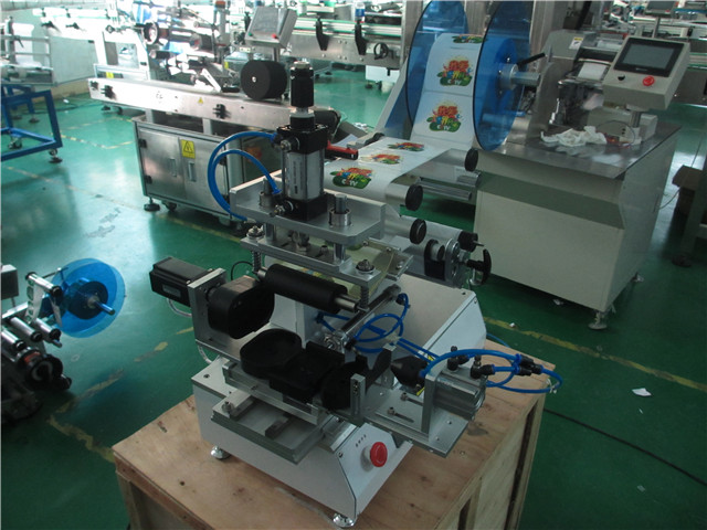 oval bottle rolling custom labelling machine labeller with step motor driving method