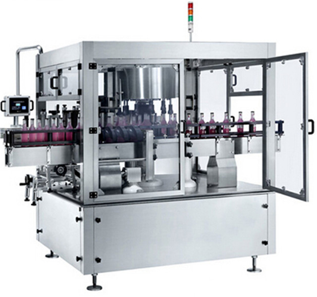 Rotary labelling machines fully automatic multi-stations PET plastic glass bottles labeller equipment high speed
