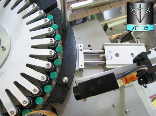 turntable of customized rotary labeling machine for conical
