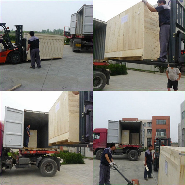 packing and shippping of  sleeve shrink labeling machines.jp