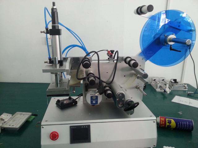 Etikettiermaschine Semi-automatic Labeling Machine Plane Flat Surface Labeler