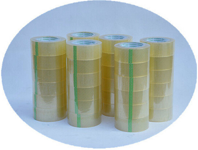 Adhesive tapes equipped with the carton sealing machine for