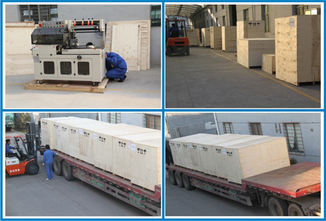 packing and shipping of Cellophane box overwrapping machine.