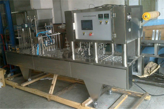 cup filling sealing machine automatic beverage jelly juice drinking nespresso coffee containers filler and sealer equipment fillers machinery