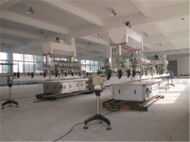 work shop of Strong liquid filling machine automatic.jpg