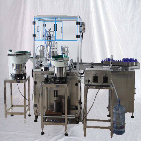 Automatic essential oil filling plugging capping labeling machine lavendar oil bottling line