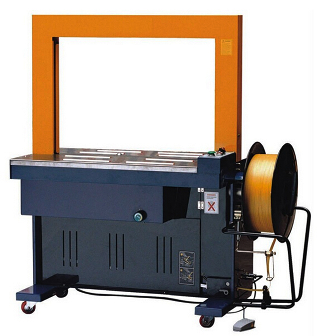 PP straps strapping machine tabletop strapper equipment belt banding machinery for boxes sealing