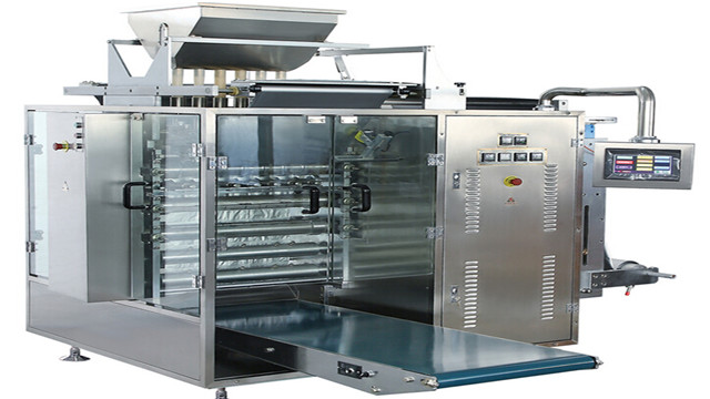 Multi lanes sugar granule coffee stick packing pack machines shampoo liquid powder multilane VFFS packaging equipment high speed