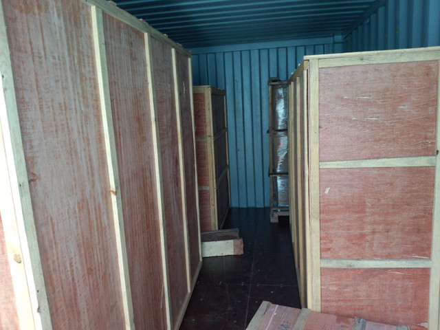 wooden packaging of Vertical form fill seal equipment granul
