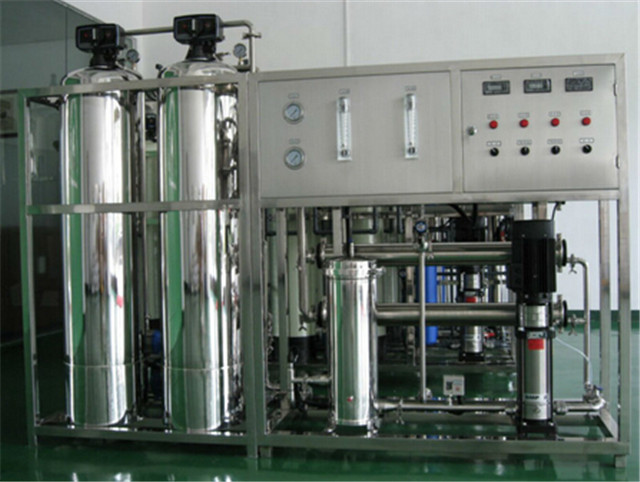 stainless steel reverse osmosis treatment industrial water RO purification solution system 500LPH water purifier filter equipment