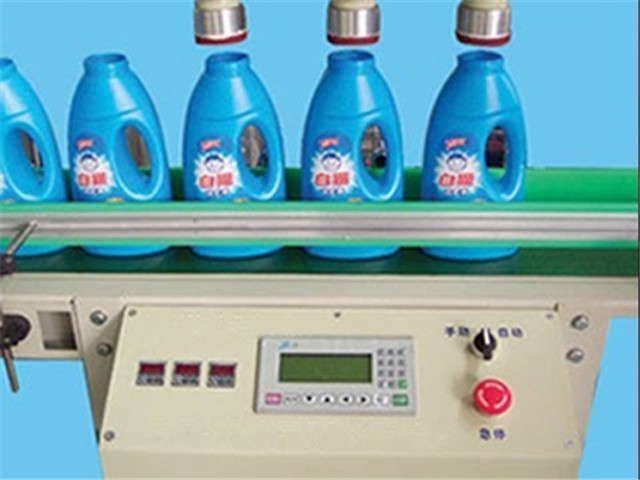 In-line plastic bottle leak detector full automatic at opera