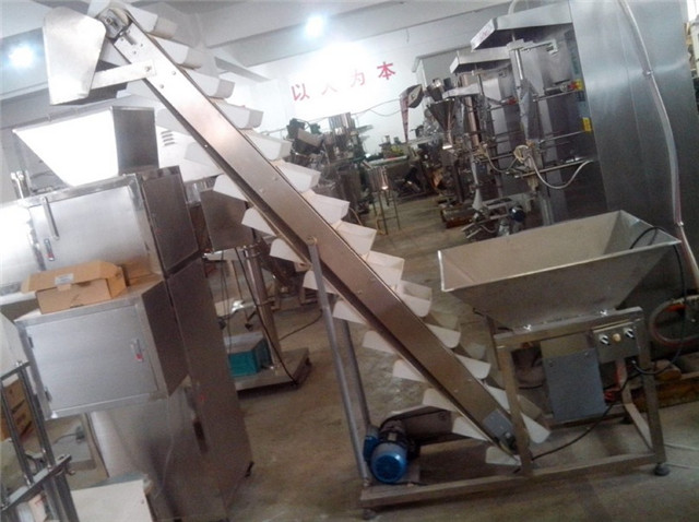 Semi Automatic Nuts Beans Granule Weighing Filling Machine a
