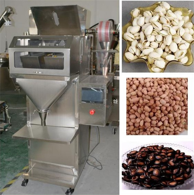applications of Semi Automatic Nuts Beans Granule Weighing F